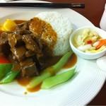 HOPESTAR 浦东机场店 - Curry Beef Set Meals(ビーフカレーセット)