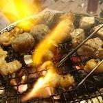 和灯 - 肉を焼く!