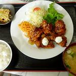 てるてるぼうず - 料理写真:カラアゲ定食