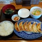 餃子の花家 - 餃子ライスセット・6個(880円)