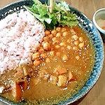 Cafe びすたーれぃ - 豆と野菜のカレー(六穀米)♪
