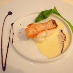 Restaurant au Sauvage - 平目のポワレ。ふわふわ。