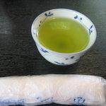 手打ち蕎麦 太郎庵 - 料理写真:お茶も美味しい