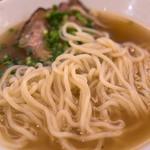 Rensoutei - 上品な中華麺。スルスルいただけました。