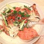 南海荘 - 鯛と蟹のグリル