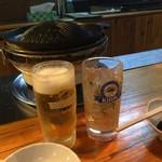 成吉思汗 大黒屋 - やっぱビールです!