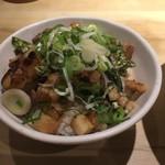 麺や佑 - チャーシュー丼