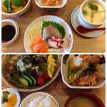 白水 - レディース御膳(食後デザート付) 2160円