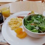 カフェ&ミール ムジ - レム日比谷宿泊あけの朝食