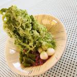 牛島製茶 和cafe Leaf Heart -