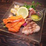 ASD roast style  昼カフェ、夜バル。 - 北陸鮮魚のカルパッチョ