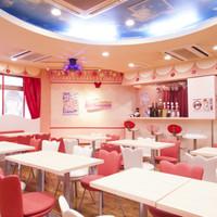 めいどりーみん - お菓子のお部屋をモチーフにしたとっても可愛い店内です!!