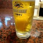 浪花ろばた 八角 - 生ビール