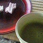 5791548 - お抹茶とお菓子