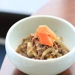 ウェスティンホテル仙台 - 宮城・山形コーナーより。芋煮