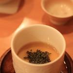 鮨 江なみ - カニの茶碗蒸し