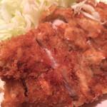 季節料理 西田 - ロースカツ定食