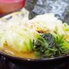 Torakichiya - 料理写真:ラーメン、キャベツ