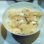 57914051 - 国産松茸の炊き込みごはん