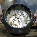 57914069 - 国産松茸の炊き込みごはん
