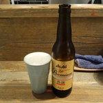 Homemade Ramen 麦苗 - アサヒ熟撰小瓶350円