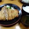 カツ吉 - 料理写真:しそかつ定食です♪