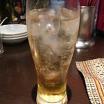 ファンファン - 杏露酒(ソーダ割り)