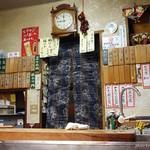 青柳 - 2016年8月 超オープンキッチンです。丸見えです~(´▽`)