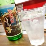 DOZi - 2016年8月 海藻焼酎!ロックで【600円】独特の香り~(´▽`)