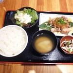 ふじ屋 - ハラミ定食¥900