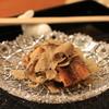 銭屋 - 料理写真:鰻のかば焼き 黒トリュフ載せ
