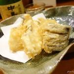 でんすけ - 2016年8月 鯛の天ぷら【450円】珍しい鯛の天ぷら。初めてかも~