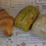 アマコロ - 料理写真:買ったパン3個