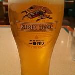 ロイヤルコーヒーショップ 仙台空港店 - 生ビール(大)だぞ!