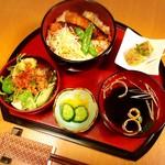 和食ひろば - 金目鯛の照り丼膳