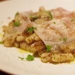 (La Fabbrica Della Pasta) Quel - マッシュルームのラグーソース、ニョケッティ