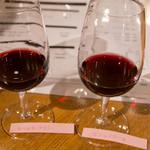 サントリー 登美の丘ワイナリー  - 有料試飲は30ml(写真)か60mlを選べます。