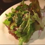 ナル - サラダ  ハチミツとバルサミコのドレッシング