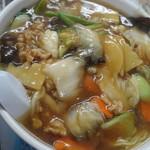 中国料理青龍 - 五目あんかけラーメン(大盛)