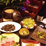 地鳥料理 万徳 別亭 安東 - 4000円コース料理