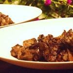 地鳥料理 万徳 別亭 安東 - 一番人気、宮崎地鶏もも焼き