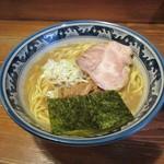 らーめん 木尾田 - らーめん大盛り(細麺)