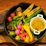 JIMMY BROWN - 焼き野菜のバーニャクダ