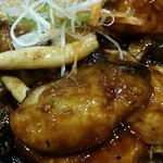 健康中華庵 青蓮 - カキのオイスターソース:ぷっくり牡蠣が6粒
