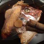 どじょう - 鯛のあら煮