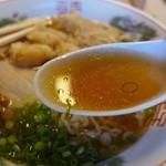 亀乃家 - 澄んだスープ
