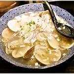 和風楽麺 四代目 ひのでや - はまぐりラーメン 980円 さっぱり感とまろやかさを兼ね備えた逸品です。