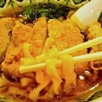 中国ラーメン揚州商人 - パーコ―麺(極太麺アップ)