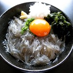 ナギ - 生しらす丼