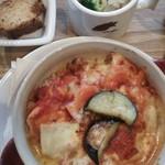 caffe  dolce - 平日のお昼セット     生トマトのドリア